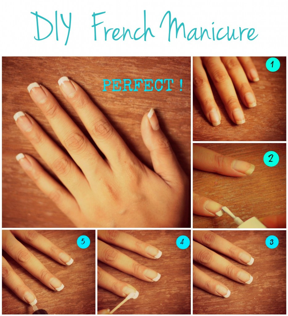 Best ideas about DIY French Manicure . Save or Pin D I Y French Manicure Style Inked Now.