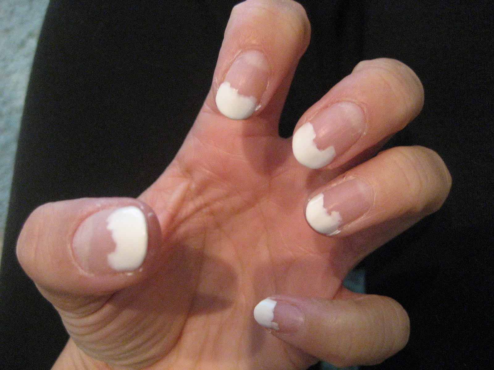 Best ideas about DIY French Manicure . Save or Pin The Buttons Wedding Blog DIY French manicure pedicure Now.