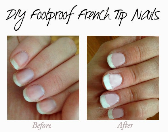 Best ideas about DIY French Manicure . Save or Pin DIY Foolproof French Tip Manicure Now.