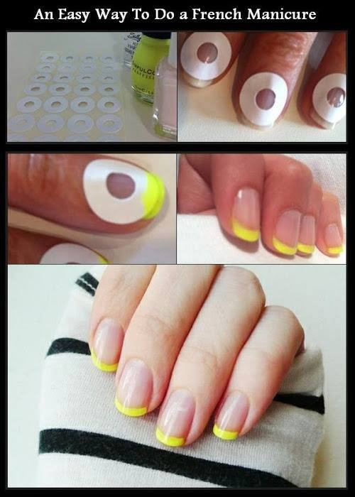 Best ideas about DIY French Manicure . Save or Pin DIY Easy French Manicure DIY Projects Now.