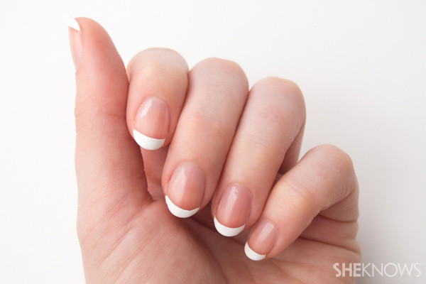 Best ideas about DIY French Manicure . Save or Pin A french manicure tutorial you can do at home to save at Now.