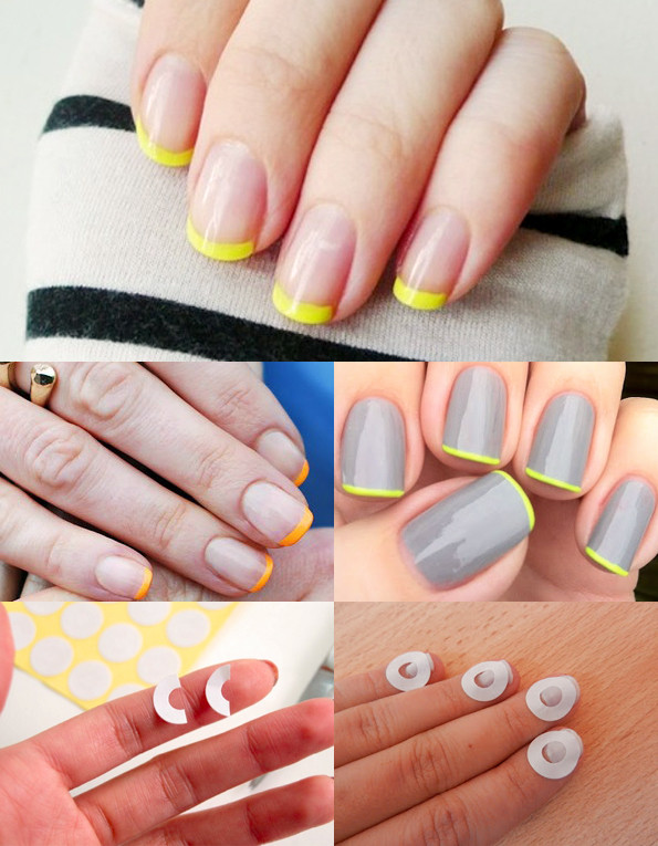 Best ideas about DIY French Manicure . Save or Pin Maiko Nagao DIY French manicure with neon tip Now.