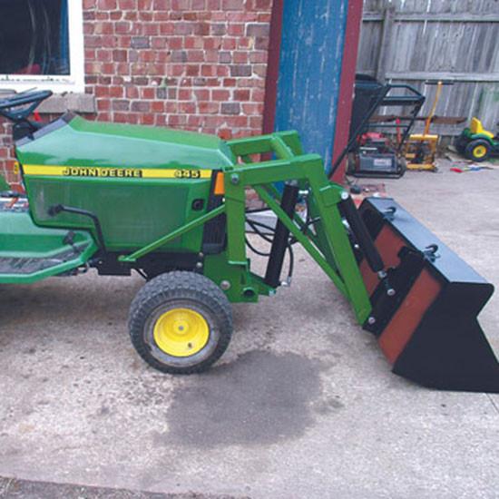Best ideas about DIY Front End Loader Kit . Save or Pin DIY Mini Front End Loader for John Deere Garden Tractors Now.