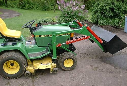 Best ideas about DIY Front End Loader Kit . Save or Pin How To Build A Loader For A Garden Tractor Plans how to Now.