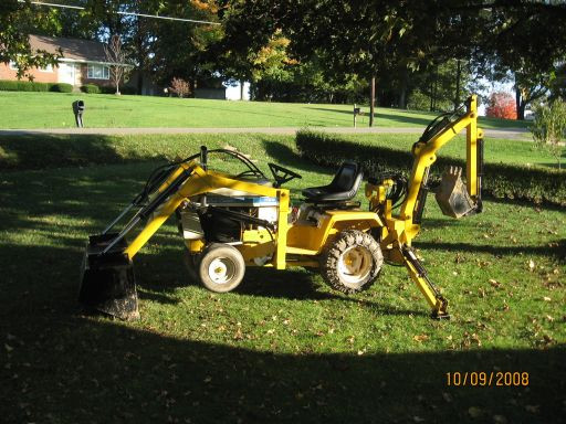Best ideas about DIY Front End Loader Kit . Save or Pin Lawn Mower With Front Loader mogams Now.