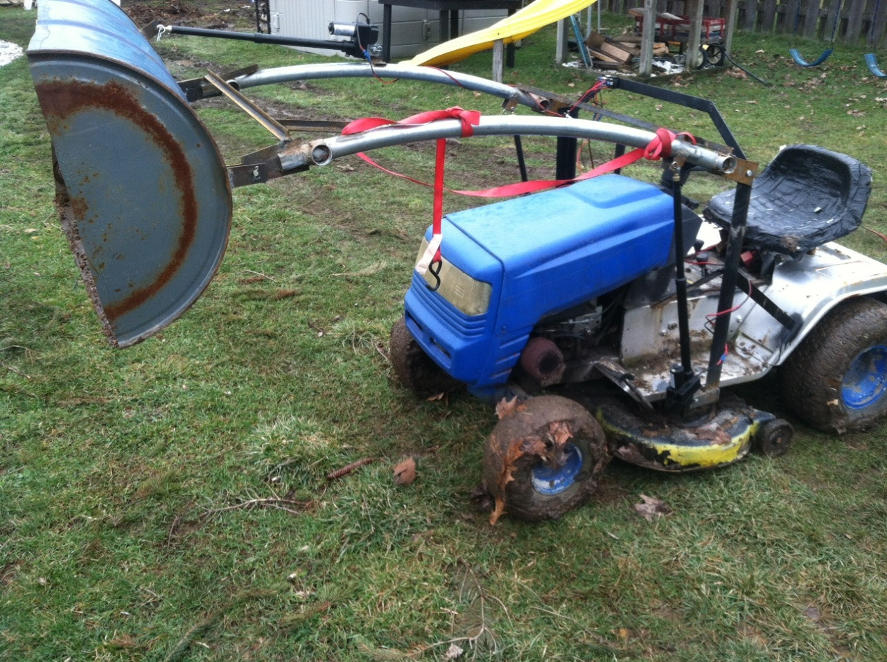 Best ideas about DIY Front End Loader Kit . Save or Pin Diy Front End Loader For Lawn Tractor DIY Projects Now.