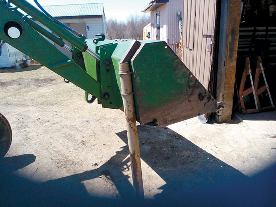Best ideas about DIY Front End Loader Kit . Save or Pin DIY Loader Bucket Fence Post Driver Tools GRIT Magazine Now.