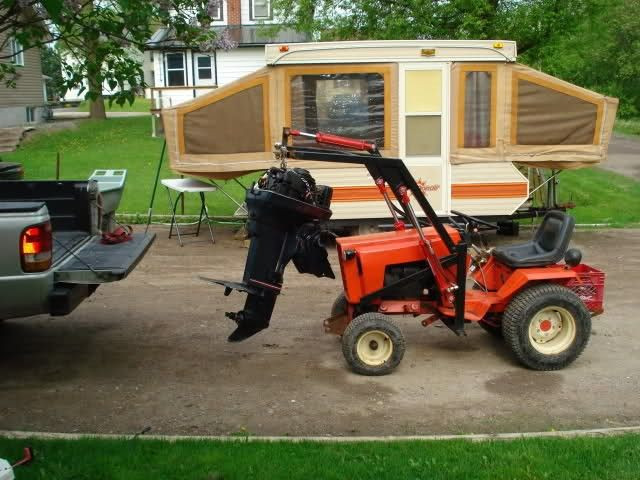 Best ideas about DIY Front End Loader Kit . Save or Pin Homemade Case Ingersoll Front end loader Lawn Mower Now.