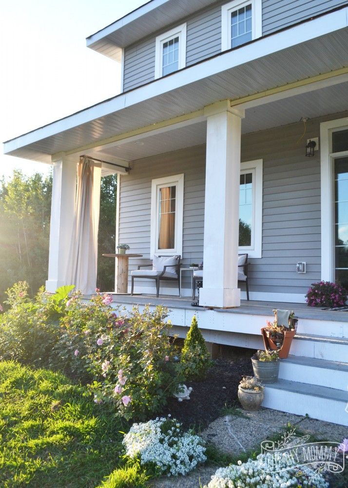 Best ideas about DIY Front Porch . Save or Pin DIY Porch Columns Working The Curb Appeal of Our DIY Now.