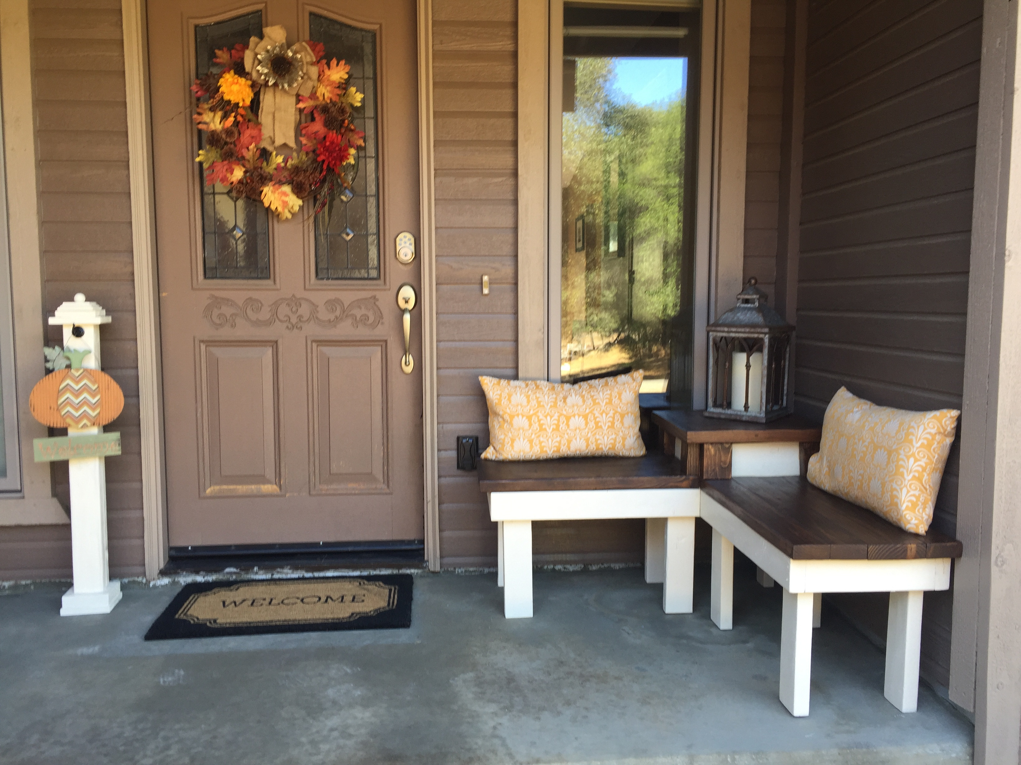 Best ideas about DIY Front Porch . Save or Pin Remodelaholic Now.