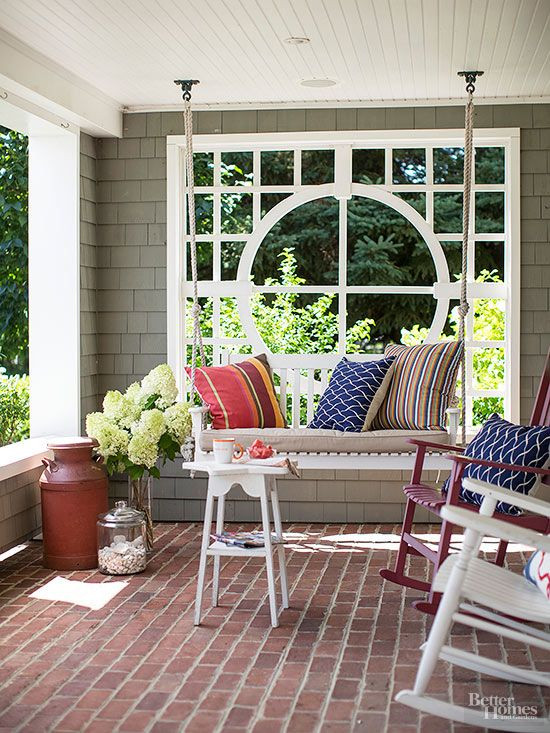 Best ideas about DIY Front Porch . Save or Pin Creative DIY Patio Ideas to Try Now.