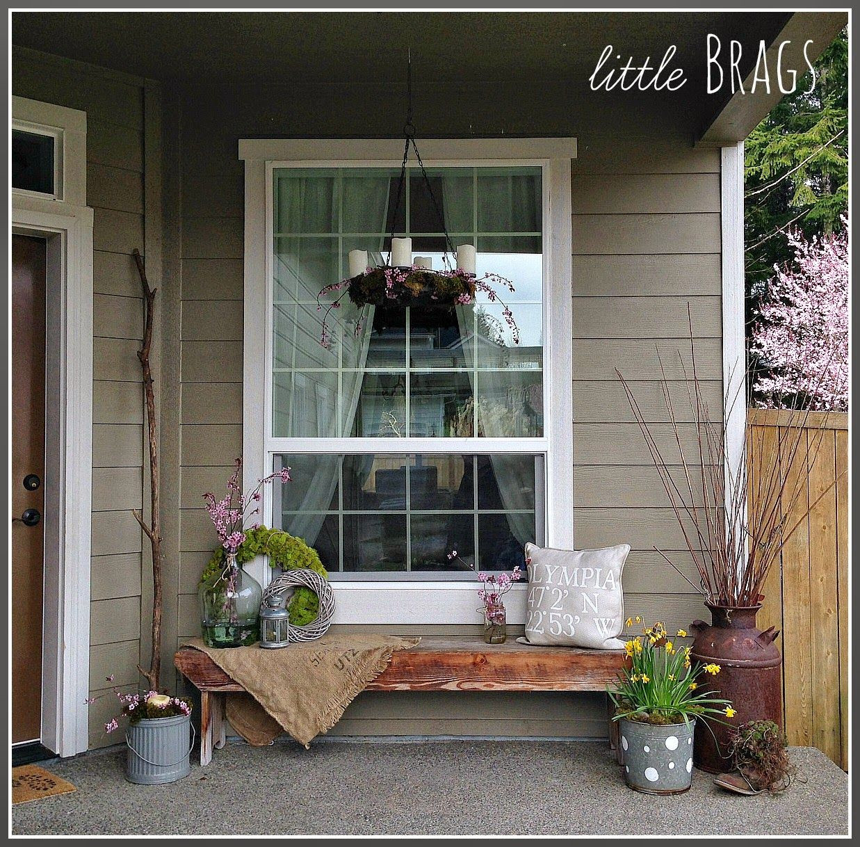 Best ideas about DIY Front Porch . Save or Pin Easy DIY Spring Crafts Now.