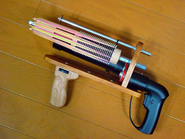 Best ideas about DIY Fucking Machine . Save or Pin Japanese Rubber Gunman Shows Us How to Make Rubber Band Now.