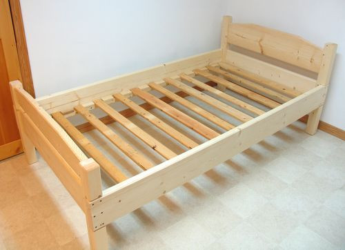 Best ideas about DIY Full Size Bed Frame . Save or Pin How to Build a Wooden Bed Frame 22 Interesting Ways Now.