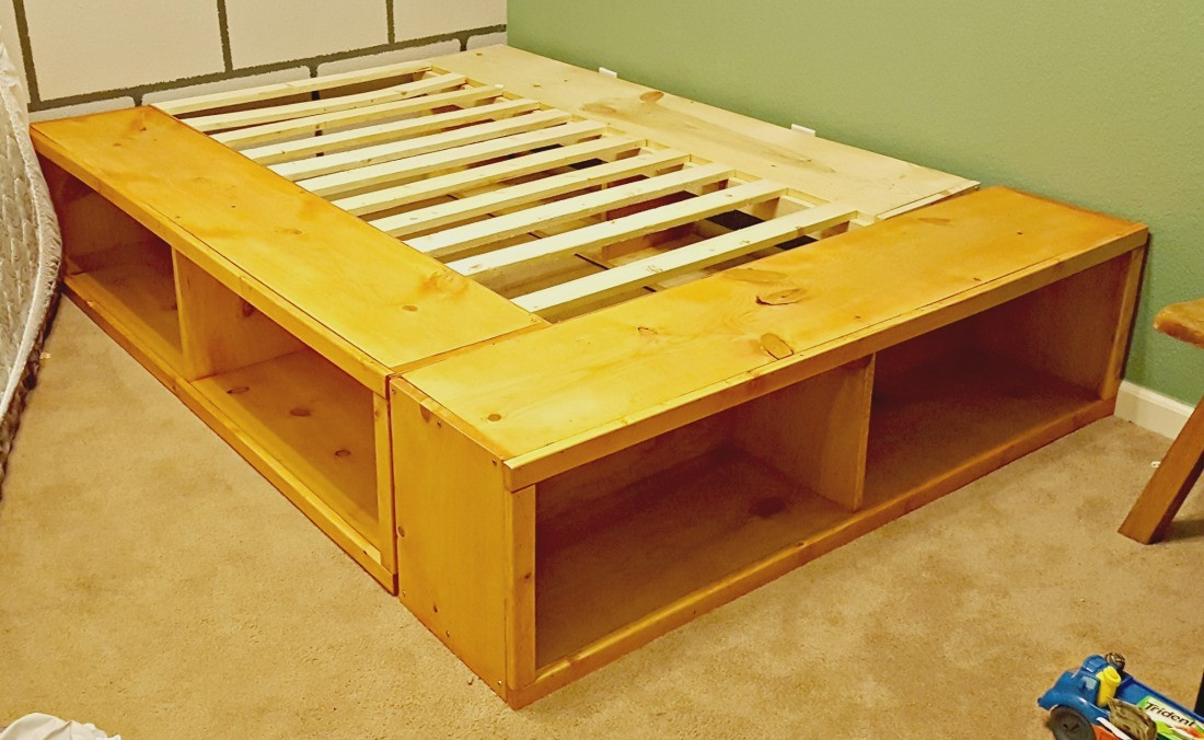 Best ideas about DIY Full Size Bed Frame . Save or Pin Ana White Now.