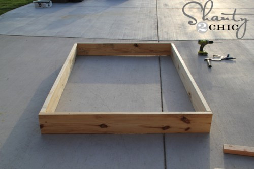 Best ideas about DIY Full Size Bed Frame . Save or Pin Easy DIY Platform Bed Shanty 2 Chic Now.