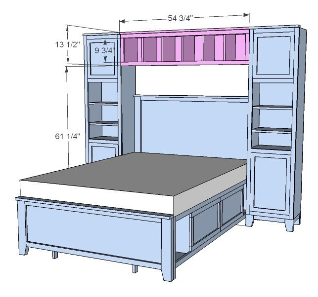 Best ideas about DIY Full Size Bed Frame . Save or Pin 16 DIY Headboard Projects Now.
