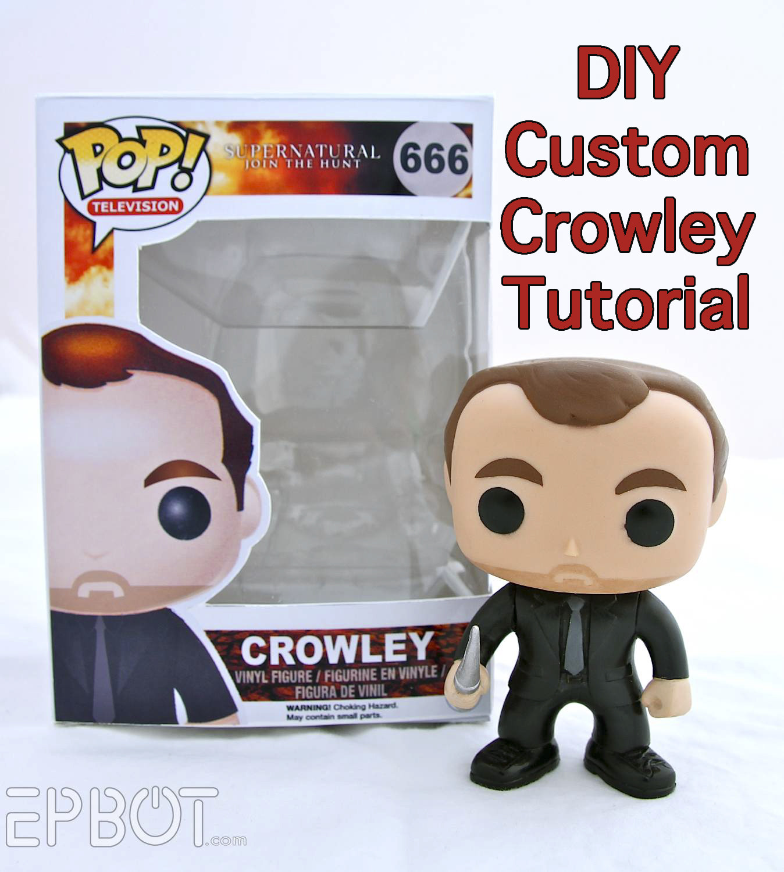Best ideas about DIY Funko Pop . Save or Pin EPBOT DIY Pop Crowley Tutorial Now.
