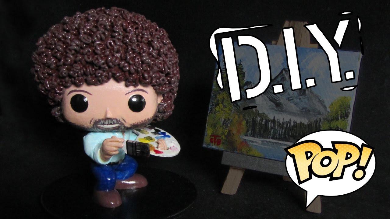 Best ideas about DIY Funko Pop . Save or Pin Making Bob Ross as a POP Custom DIY Funko Now.