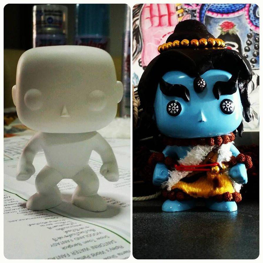 Best ideas about DIY Funko Pop . Save or Pin Funko POP DIY Custom Shiva by saintvinod on DeviantArt Now.