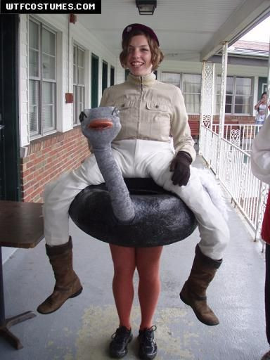 Best ideas about DIY Funny Costume . Save or Pin Ostriches Costumes and Halloween costumes on Pinterest Now.