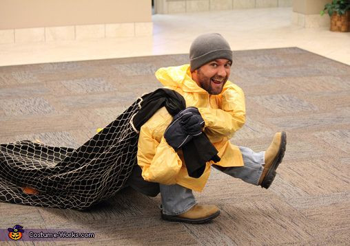 Best ideas about DIY Funny Costume . Save or Pin Tiny Fisherman Costume Now.