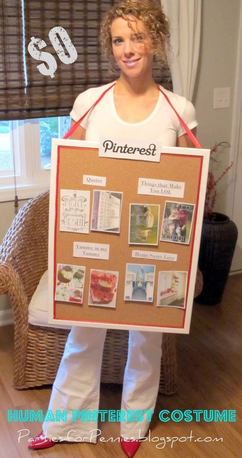 Best ideas about DIY Funny Costume . Save or Pin 10 Awesome Non y Halloween Costume Ideas for Women Now.