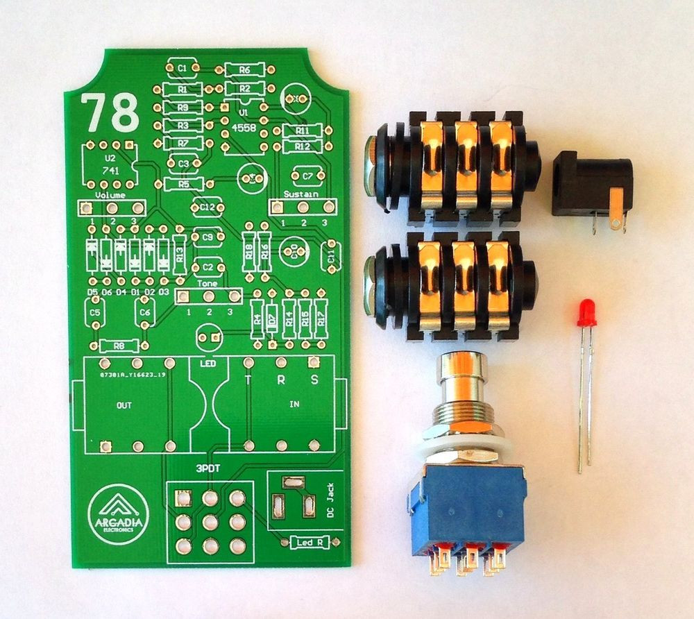 Best ideas about DIY Fuzz Pedal . Save or Pin DIY IC B Muff Fuzz Distortion Effect pedal Kit PCB and Now.