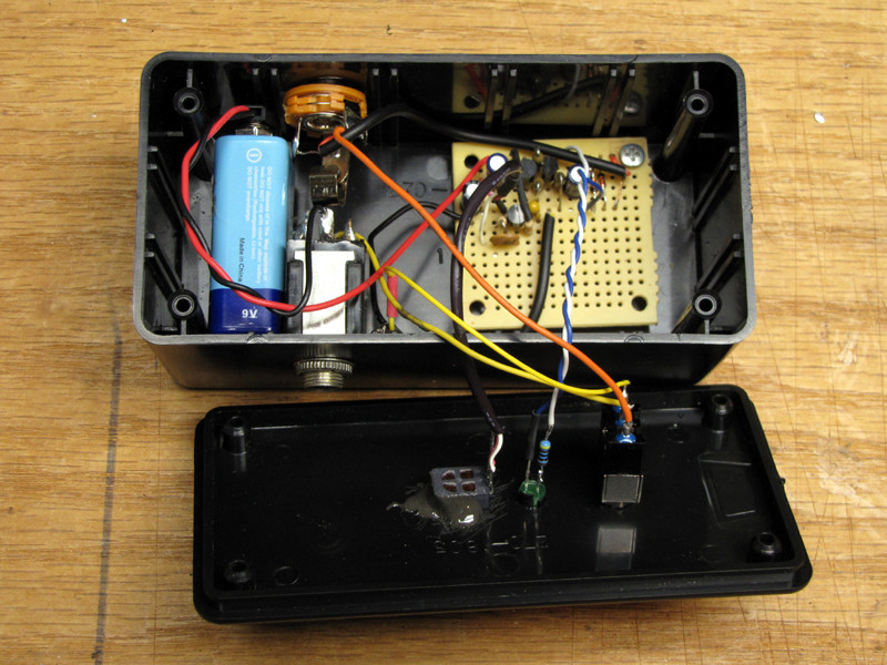Best ideas about DIY Fuzz Pedal . Save or Pin DIY Guitar Fuzz Effect Box Now.