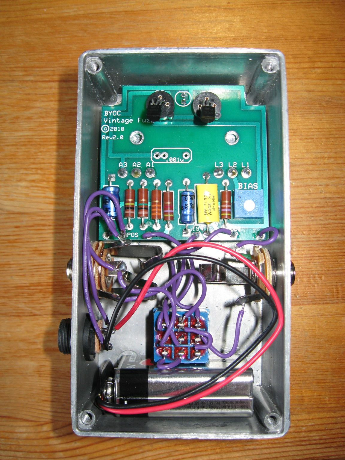 Best ideas about DIY Fuzz Pedal . Save or Pin Music Wrench DIY Fuzz Pedal Now.