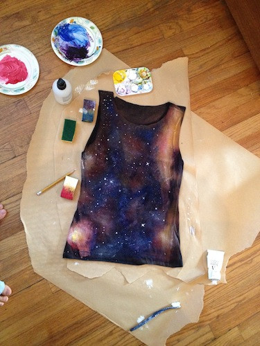 Best ideas about DIY Galaxy Shirts . Save or Pin How To Own It The Queer Grrl's Guide to the Galaxy Now.