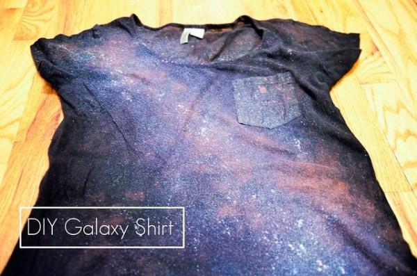 Best ideas about DIY Galaxy Shirts . Save or Pin DIY Galaxy Shirt 2 Now.