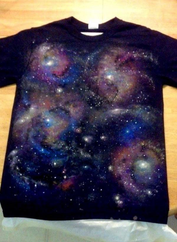 Best ideas about DIY Galaxy Shirts . Save or Pin Brilliantly Creative DIY Galaxy Ideas Now.