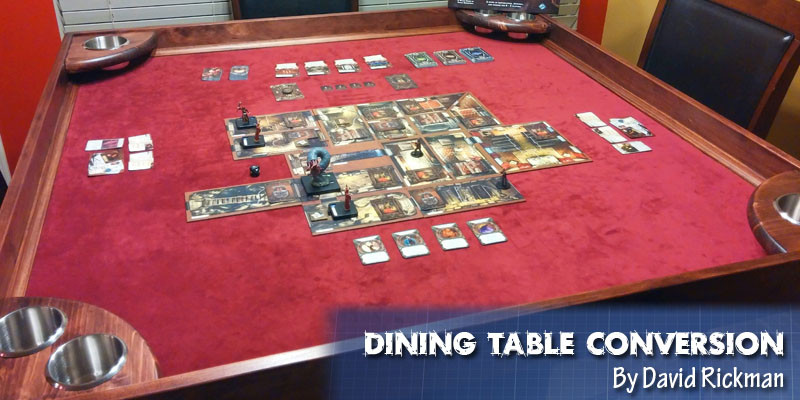 Best ideas about DIY Game Table . Save or Pin Coolest DIY Gaming Tables Webb Pickersgill Now.