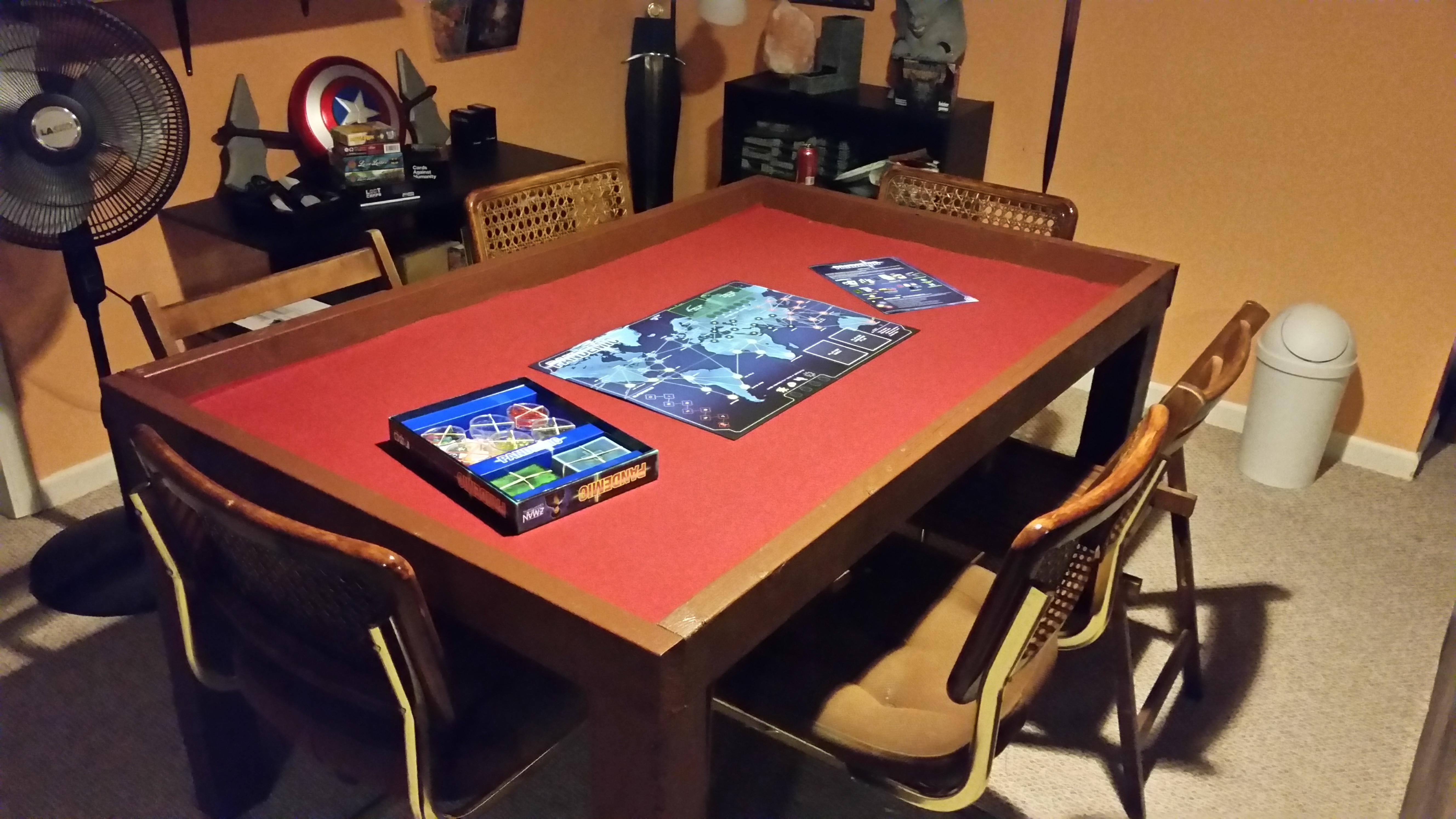 Best ideas about DIY Game Table . Save or Pin DIY Board Game Table for under $500 boardgames Now.
