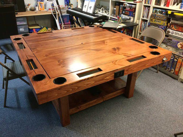Best ideas about DIY Game Table . Save or Pin DIY Tabletop Gaming Table World Building Technabob Now.