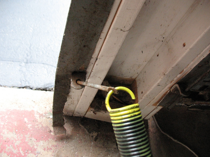 Best ideas about DIY Garage Door Replacement . Save or Pin e Piece Garage Door Extension Spring Replacement Now.