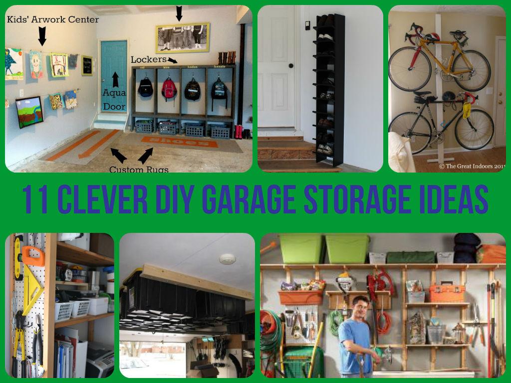 Best ideas about DIY Garage Ideas . Save or Pin 11 Clever Garage Storage Ideas Now.