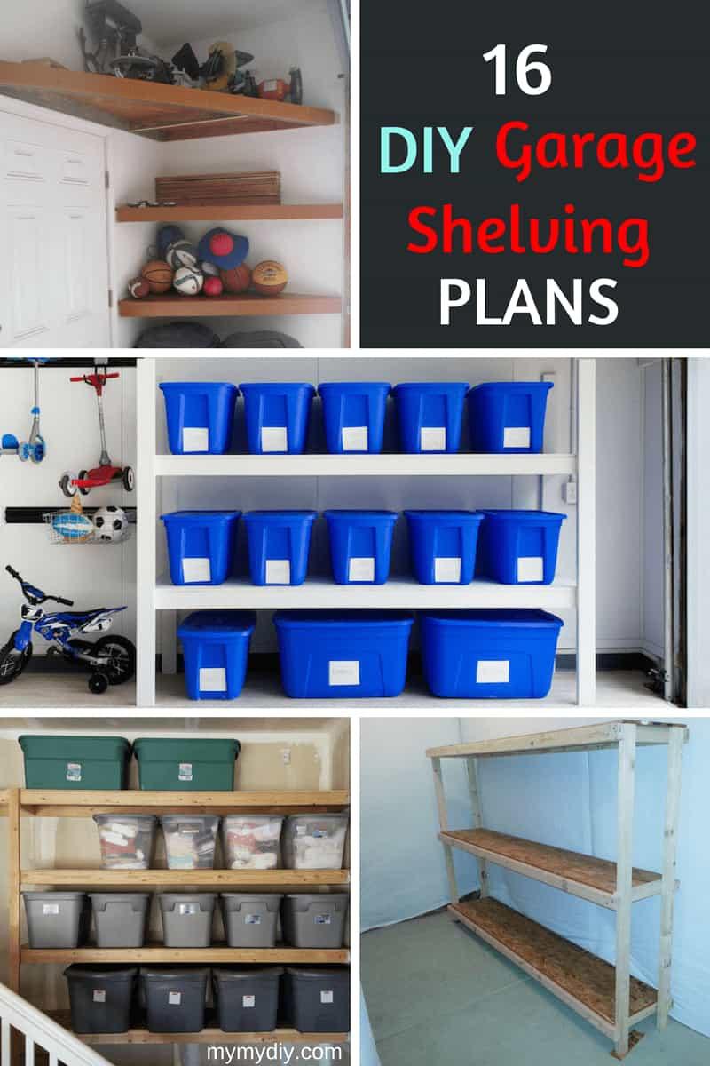 Best ideas about DIY Garage Ideas . Save or Pin 16 Practical DIY Garage Shelving Ideas [Plan List Now.