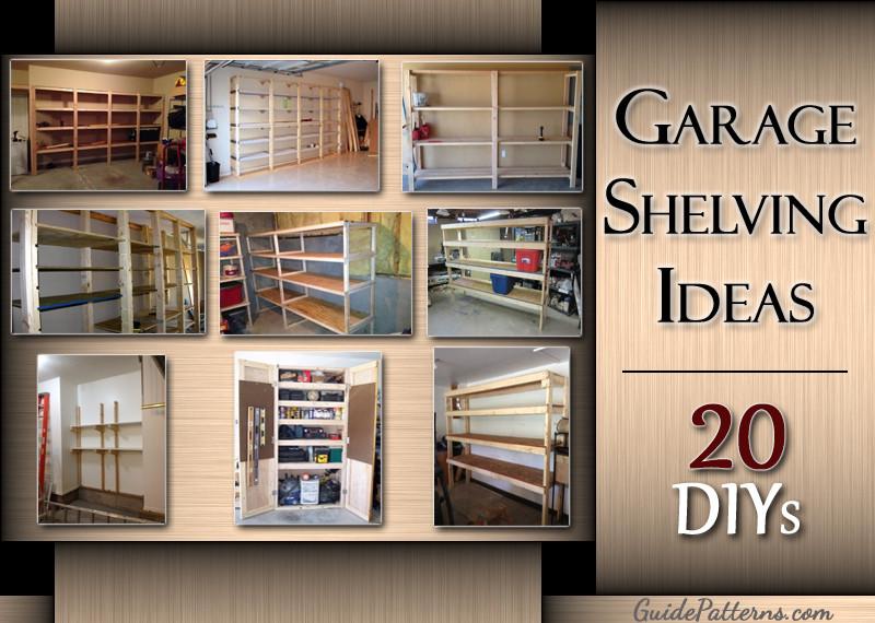 Best ideas about DIY Garage Ideas . Save or Pin 20 DIY Garage Shelving Ideas Now.