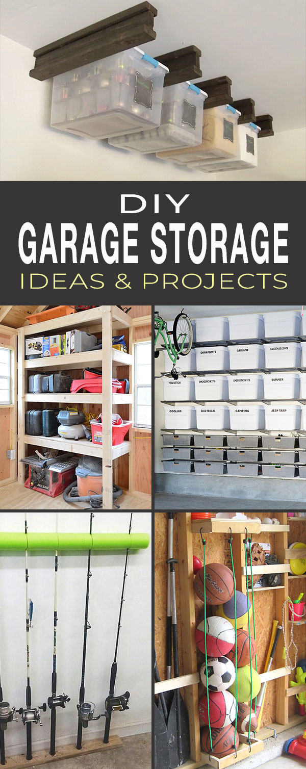 Best ideas about DIY Garage Ideas . Save or Pin DIY Garage Storage Ideas & Projects Now.
