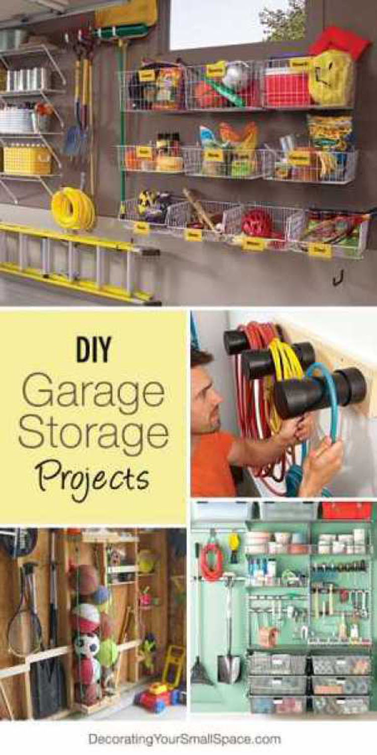 Best ideas about DIY Garage Organizing . Save or Pin Treasured Tidbits by Tina DIY Garage Storage Ideas Now.