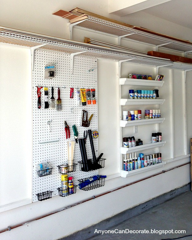 Best ideas about DIY Garage Organizing . Save or Pin Garage Storage on a Bud • The Bud Decorator Now.