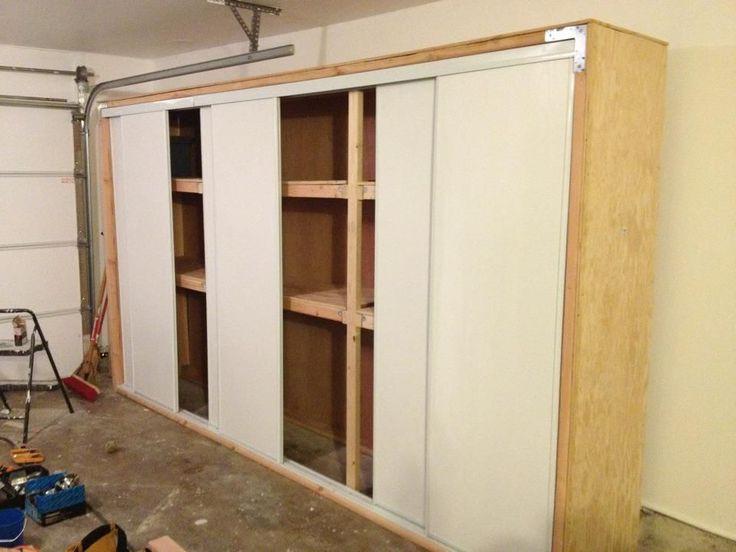 Best ideas about DIY Garage Storage Cabinet . Save or Pin DIY Garage Storage Heavy Duty Storage Building garage Now.