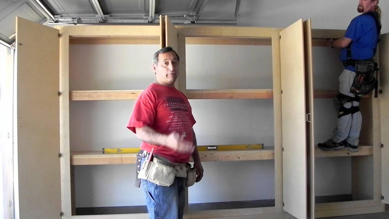 Best ideas about DIY Garage Storage Cabinet . Save or Pin Manny s Organization Station HERCULEAN Garage storage Now.