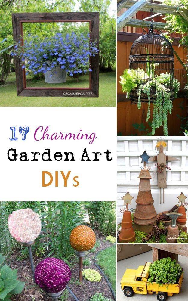 Best ideas about DIY Garden Art . Save or Pin Garden art DIY Gardening Now.