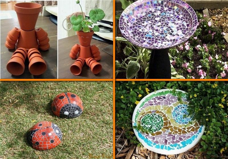 Best ideas about DIY Garden Art . Save or Pin Space Saving DIY Vertical Gardens Now.
