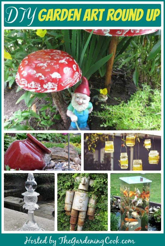 Best ideas about DIY Garden Art . Save or Pin DIY Garden Decoration Projects Make your Own Garden Art Now.