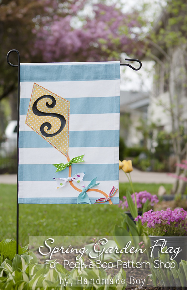 Best ideas about DIY Garden Flag . Save or Pin Garden Flag Tutorial Peek a Boo Pages Patterns Fabric Now.
