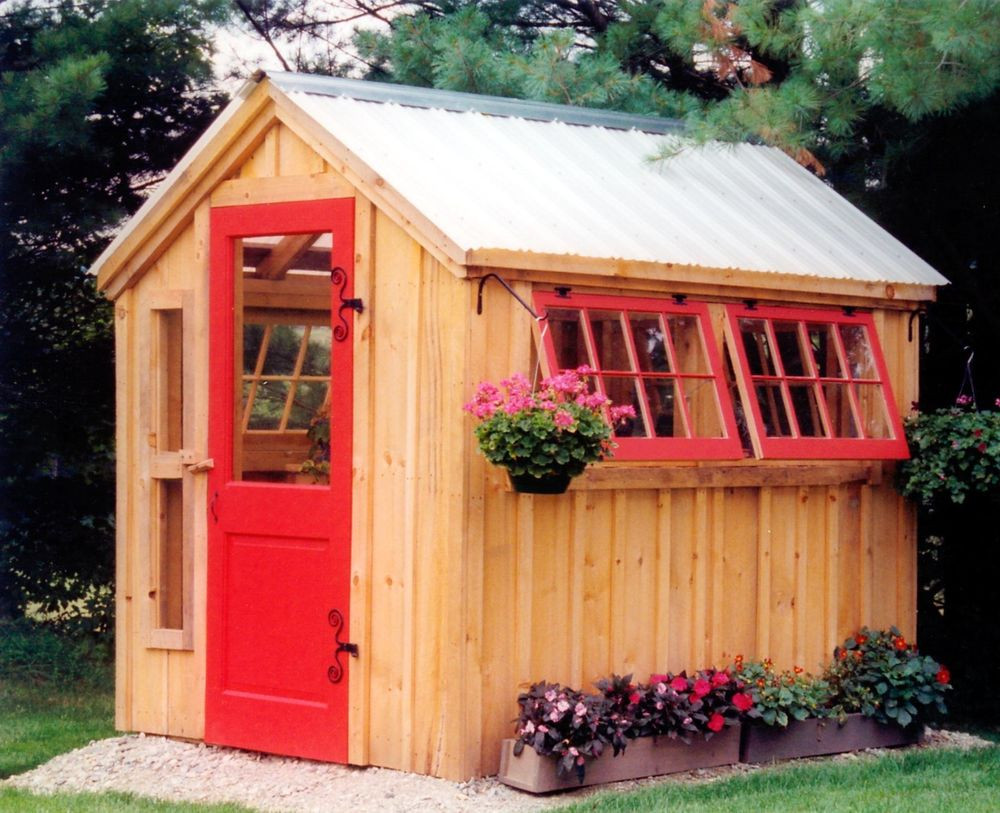 Best ideas about DIY Garden Shed Plans . Save or Pin Greenhouse Shed DIY Choose Your Size Garden Outdoor Now.